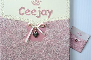 CeeJay (schilderij 40x40 v.geboortekaartje)